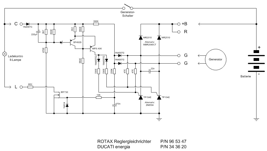 Rotax Ducati Rectifier Regulator on Vespa Wiring Diagram