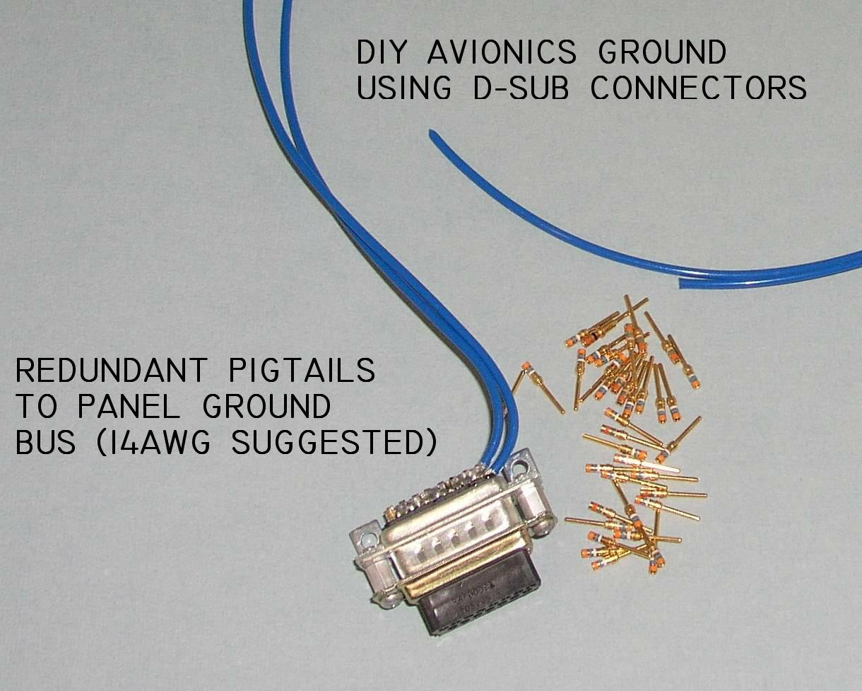 Aeroelectric List Archive Browser Autoleads Copper Coated Aluminium Cca Wiring Kits Come With All Light Grounding Tasks Can Be Managed In A Very Compact And Convenient Form Using D Sub Connectors