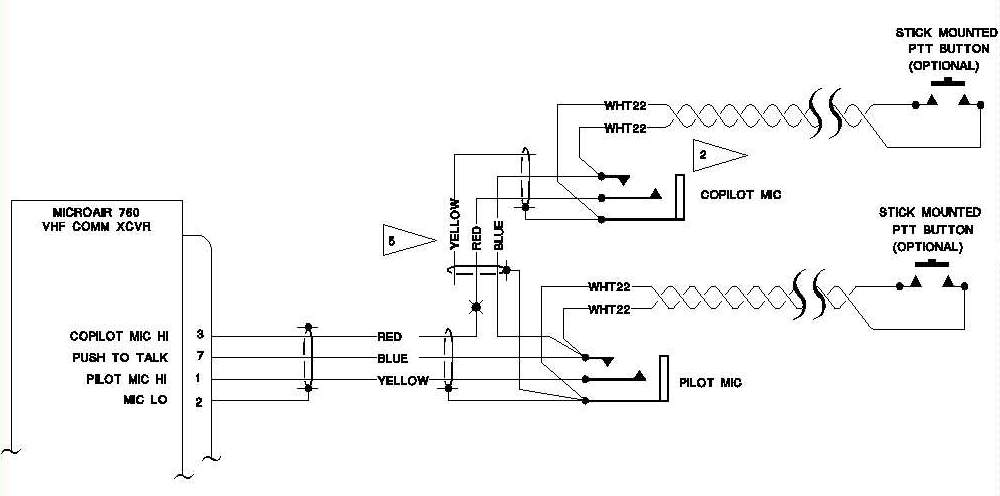 [SCHEMATICS_4CA]  AeroElectric Connection - Aircraft Microphone Jack Wiring | Wiring Diagram Stereo Headset |  | AeroElectric Connection