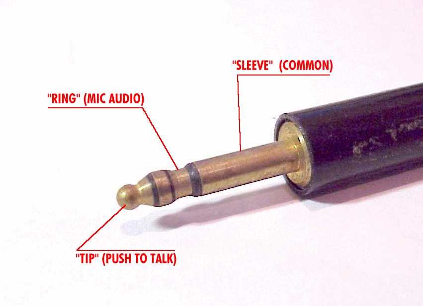 aeroelectric connection aircraft microphone jack wiring click here for larger image