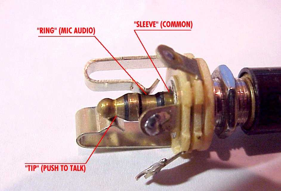 aeroelectric connection aircraft microphone jack wiring the manner in which the three circuits of the plug and jack come together can be seen in the adjacent photograph